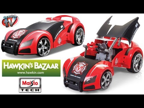 Maisto Tech Project 66 Street Trooper RC Car Toy Review. Hawkin's Bazaar