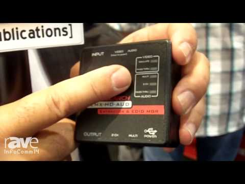 InfoComm 2014: Hall Research Highlights its EMX-HD-AUD Audio Extractor