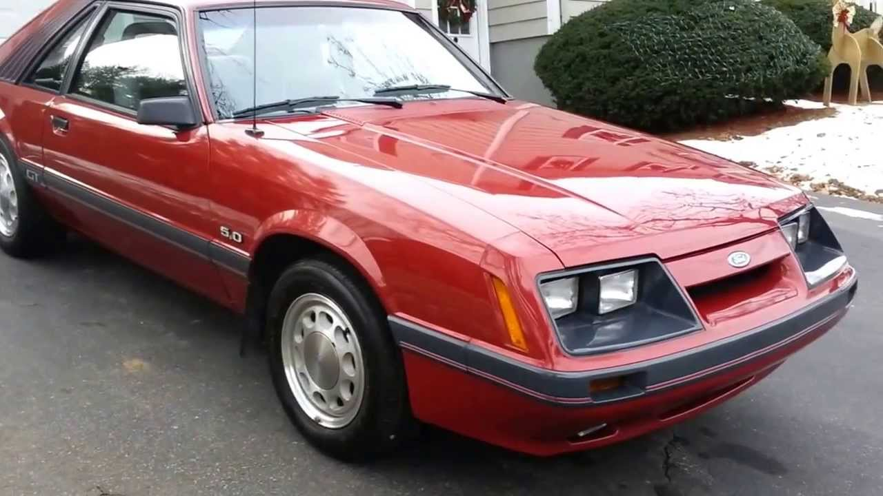 1985 Mustang Gt 302 4v 5 Speed With 12 830 Original Miles And Original Tires Youtube