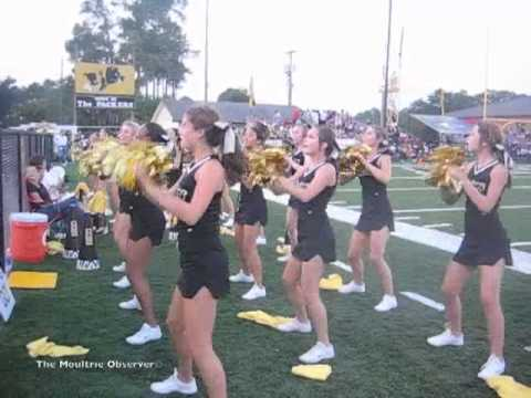 Colquitt County High School Cheerleaders