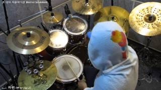 Bakemonogatari OP - Ren'ai Circulation Drum cover