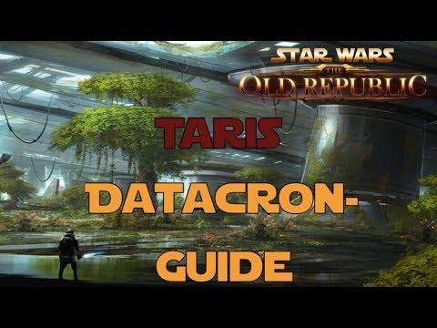 SWTOR Datacron Guide für Taris Imperium