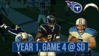 Can We Stop LT? The Answer May SHOCK You... | ESPN NFL 2K5 Titans Franchise REBOOTED Y1G4 @ Chargers