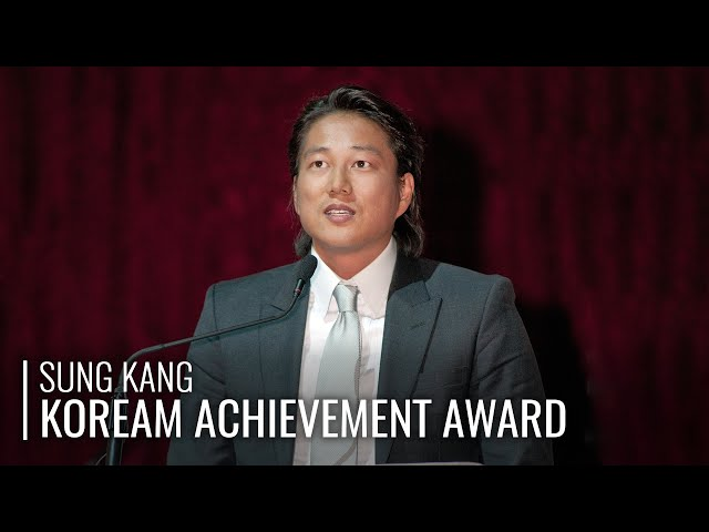 Sung Kang: 2011 KoreAm Achievement Award Acceptance Speech
