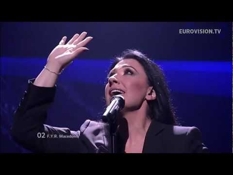 KALIOPI - CRNO I BELO - live Semi Final 2 Eurovision Song Contest 2012