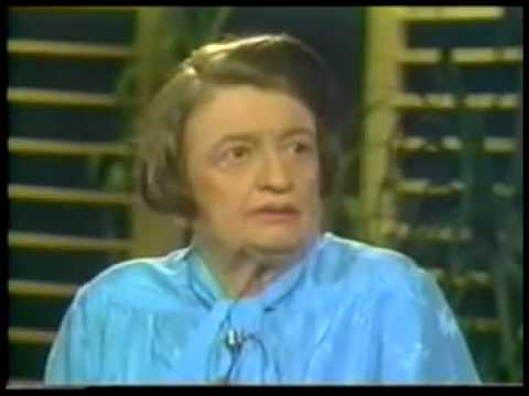 Ayn Rand Phil Donahue Interview