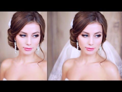 свадебные прически уроки в фотошопе