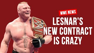 Brock Lesnar's HUGE New WWE Contract Revealed