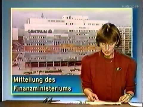 Aktuelle Kamera 12.1.1990 Spätausgabe