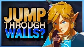 Breath of the Wild's Craziest Glitch! Move through floors and walls? - Hyrule Highlights