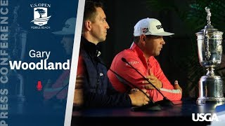 2019 U.S. Open: Gary Woodland Champions Press Conference