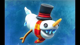 (NEW) SNOWSHARK BABY ! - Hungry Shark Evolution