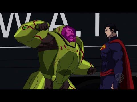 "The Death of Superman - ""Superman vs. Mannheim"" Clip   IGN"