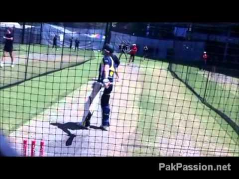 Australian Team Net Session: Brad Haddin, Adelaide Oval, 21 Jan 2012,  Adelaide, Australia
