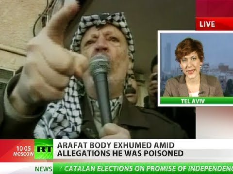 Arafat body exhumed, Qatar obsessed with Israel trace
