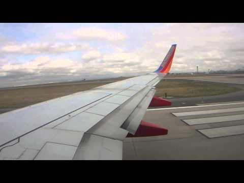 Southwest Airlines B737-7H4 Takeoff From Denver