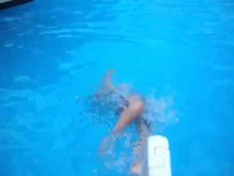 Ryan Xxx Swims In A Pool In U.s.a video