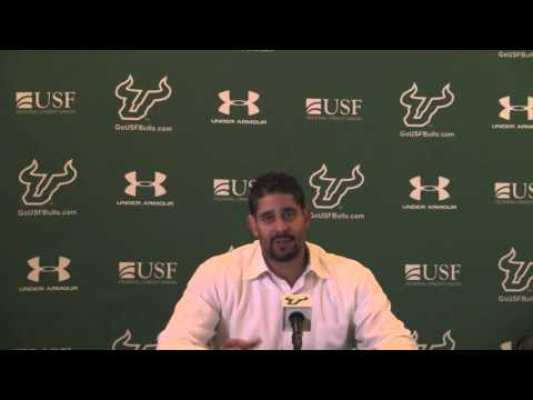 USF Orlando Antigua Post Game Boston University vs  USF 2015