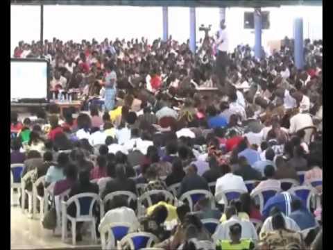 Worship at Neno Evangelism, Nairobi, Kenya