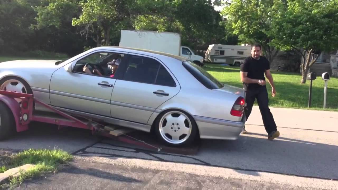 Mercedes W202 Lowered Problems Youtube