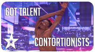 Mind bending contortionists on Got Talent from around the world!