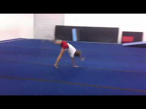 Practicing Tumbling at EMC
