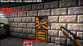 ZombieCraft - Cod Zombies Meets Minecraft - Attempt 1 - Part 1