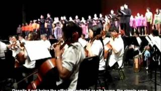 Iloilo Ang Banwa Ko by Philippine Madrigal Singers and Philippine Philharmonic Orchestra