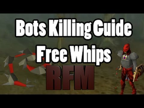 Rs Bots Killing guide for Whips (Money Making)