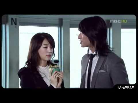 Eun Hye Joo Ji Hoon in mbc awards skit.mp4 - YouTube