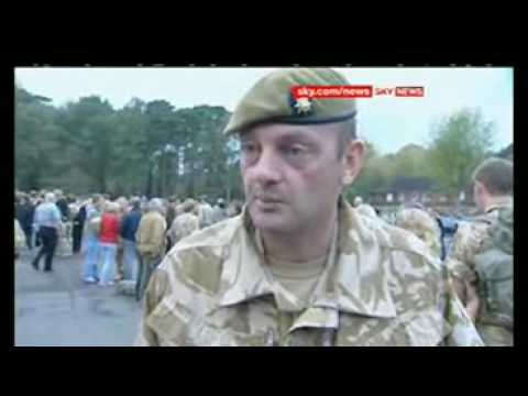 SKY NEWS REPORT - 1st Bn royal Anglian Regiment Afghanistan home coming