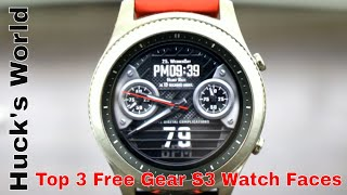 Gear S3 Top 3 Best Of The Best Free Watch Faces To Download