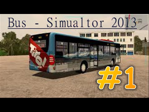 Let's Play Bus-Simulator 2013 #01 [HD]