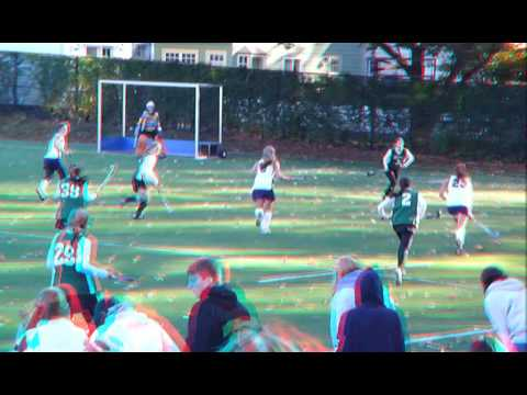 Montclair Kimberley Academy wins the Prep B Field Hockey Tournament 2010 - 3D Red/Cyan Anaglyph