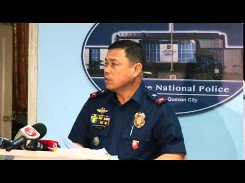 Manila Police District MEDIA BRIEFING (Sept. 4, 2015)