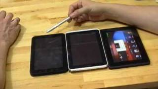 Tablet Wars III - HTC Flyer vs BlackBerry PlayBook vs Samsung Galaxy Tab