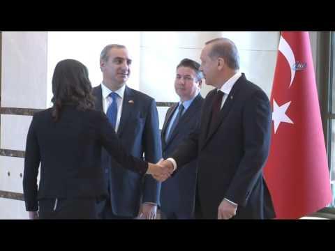 İsrail Büyükelçisi, Cumhurbaşkanı Erdoğan´a güven mektubunu sundu