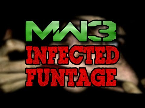 MW3 Infected Funtage! (MW3 Infected Gametype Funny Moments and Trolling)