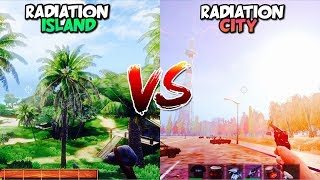 Radiation City vs Radiation Island (Comparacion Grafica)