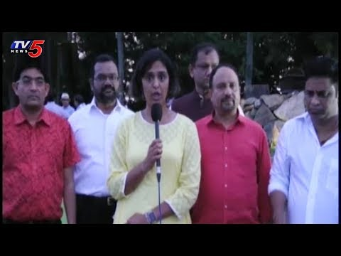 Telugu NRIs Celebrates American Independence Day At New Jersey | TV5 News