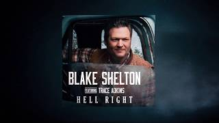 "Blake Shelton - ""Hell Right (ft. Trace Adkins)"" (Motion Graphic Series)"