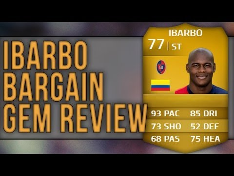 FIFA   Bargain Gem - Victor Ibarbo! Review & In-Game Stats   Ultimate Team