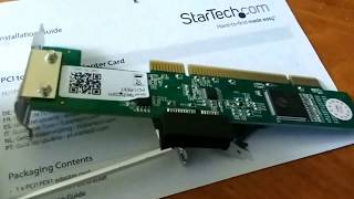 PCI to PCIe adapter unboxing