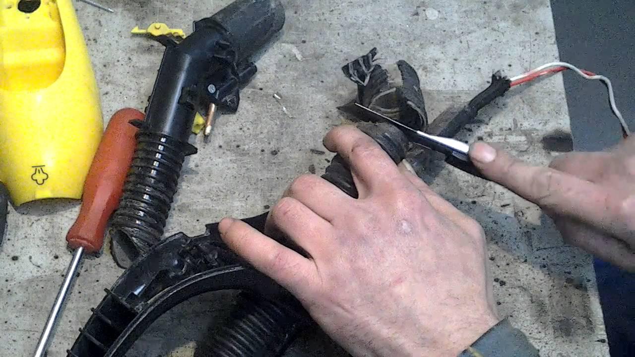 Как починить шланг высокого давления керхер своими руками