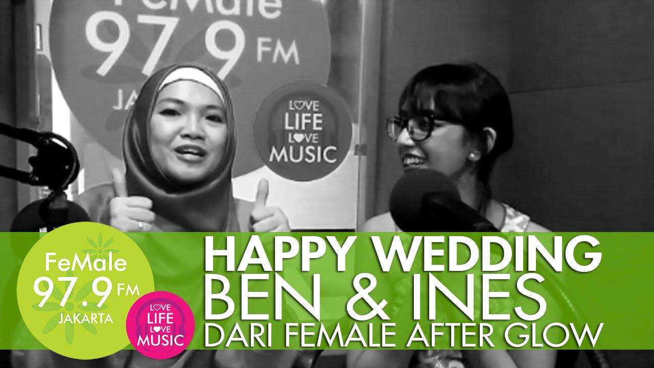 Mengucapkan happy wedding