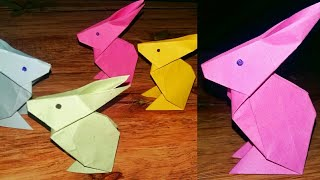 paper rabbit   diy easy paper craft ideas  paper origami   art and craft   be crafty 22