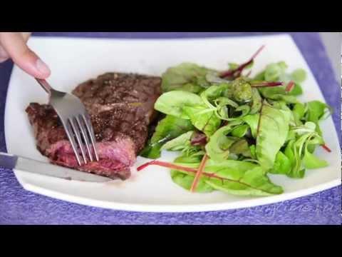 Стейк Рибай - как готовить мясо - легкий рецепт