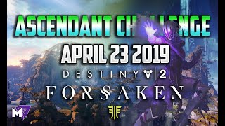 Ascendant Challenge Solo Guide April 23 2019 | Destiny 2 Forsaken | Taken Eggs & Lore Locations