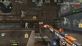 M4A1 Anonymous chiến zombie -Funny game Cf