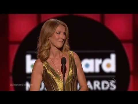Celine Dion Present Artist of the Year at 2013 Billboard Music Awards [HD 720p]